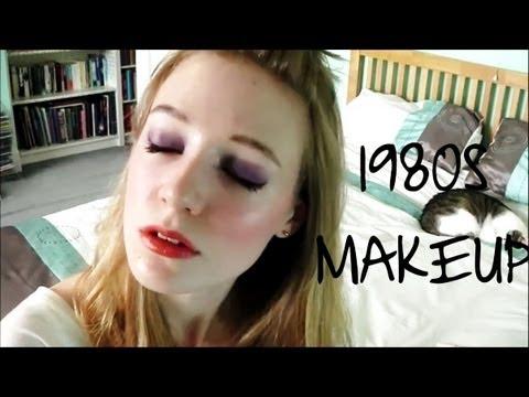 1980s Makeup - 80s Pop style
