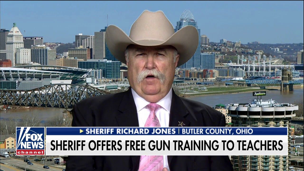 'We've Got to Protect the Kids, Period': Ohio Sheriff Offers Free Gun  Training to Teachers