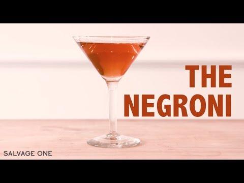 Venue and a Menu: How to make the Negroni