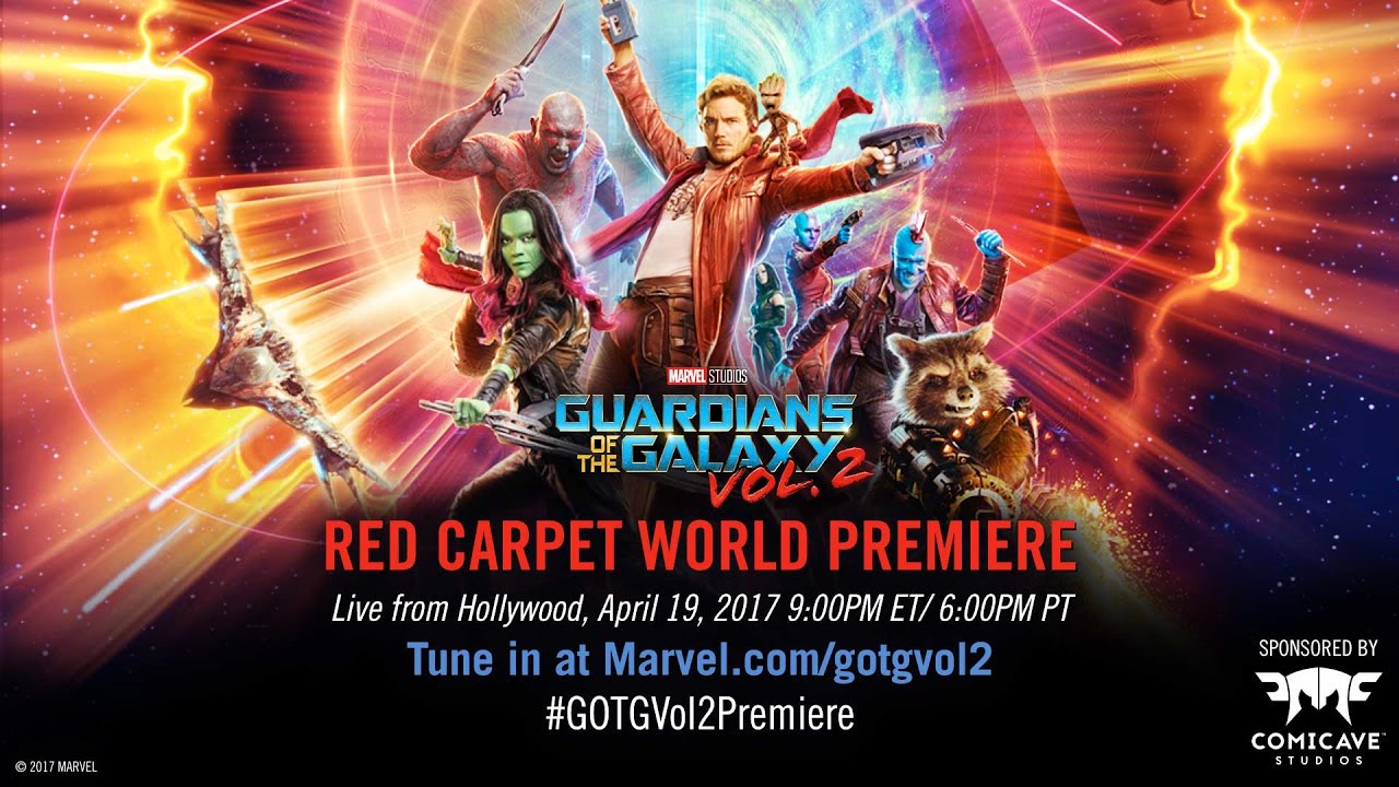 marvel studios guardians of the galaxy vol 2 red carpet premiere