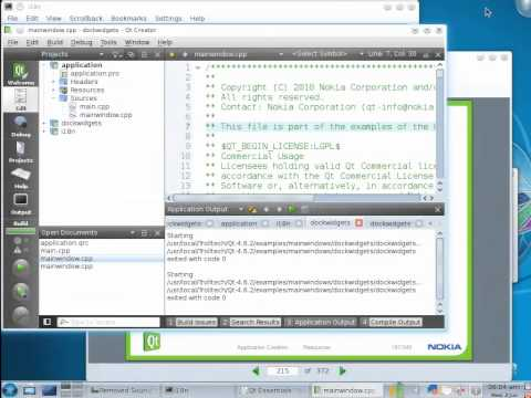 Qt Training: Application Creation (part 2/3): Settings, resources and application deployment