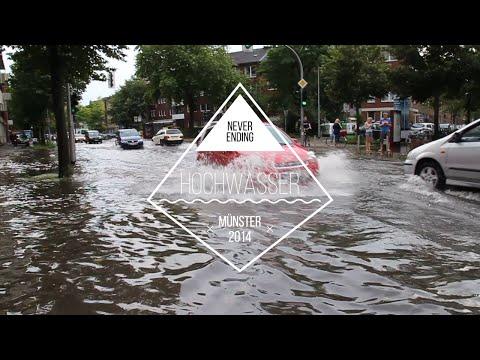 Starkregen Hochwasser Münster 28.07.2014