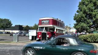BUS RALLY AND RUNNING DAY HERNE BAY KENT AUGUST 2015