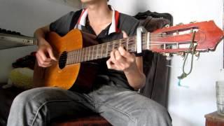 Nỗi đau xót xa - guitar cover.flv