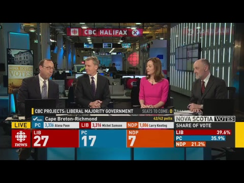 Live: Nova Scotia Votes