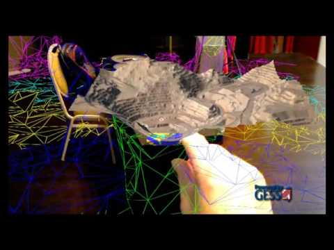 3D Mine Hologram Created By GESS