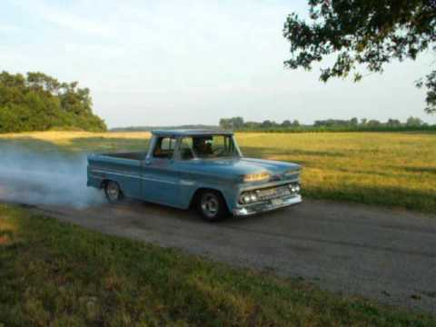60s Chevy Truck >> 1960 Chevy truck burnout - YouTube