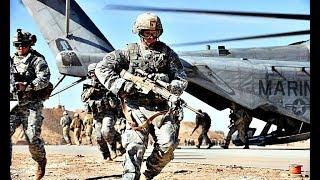 Американский десант в действии. Оружие запада. Армии мира.