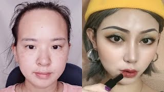 Best VIRAL Asian Makeup Transformations 2019 😱 Asian Makeup Tutorials Compilation / part 14