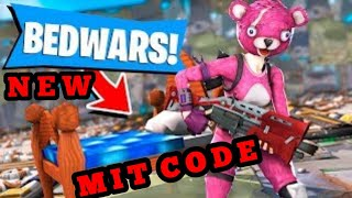 Fortnite Bedwars Map mit Code