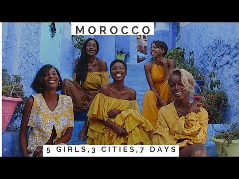 5 GIRLS, 3 CITIES , 7 DAYS   MOROCCO 2017 VLOG