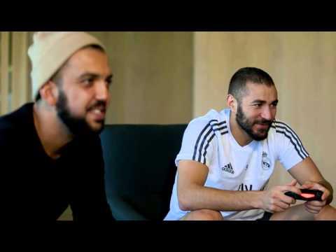 Madrid vs. Lyon - Partie 1 avec Jhon Rachid, Mister V et Hakim