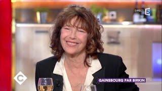 Jane Birkin au dîner - C à Vous - 01/11/2017