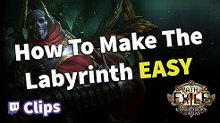How to Make The Labyrinth Easy in Path of Exile