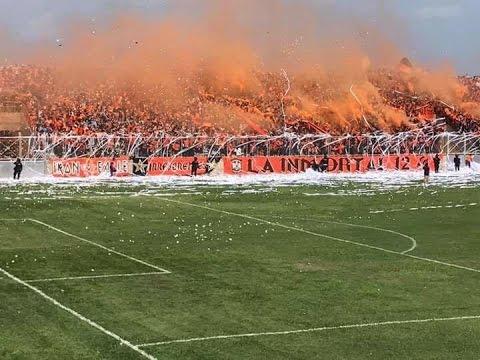 Gol de Lizama Aguila 1 Santa Tecla 0 Desde la Grada