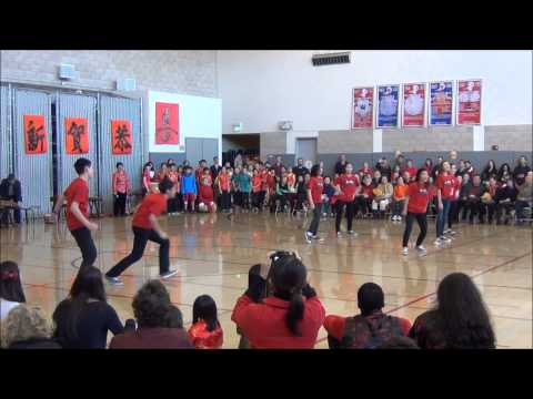 "Faith's Hip Hop Group ""So Fly"" @ Chinese American International School Mass Greeting 2013"