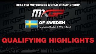 MXGP of Sweden MXGP Qualifying Highlights