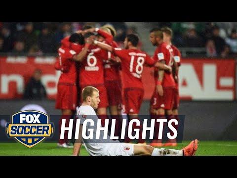 FC Augsburg vs. Bayern Munich | 2015–16 Bundesliga Highlights