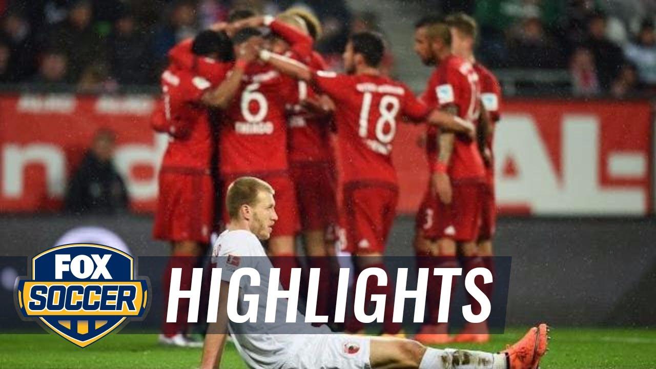 bayern augsburg highlights