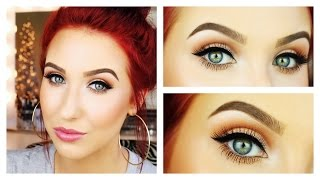 Get Ready With Me - Messy Bun & Classic Makeup Thumbnail
