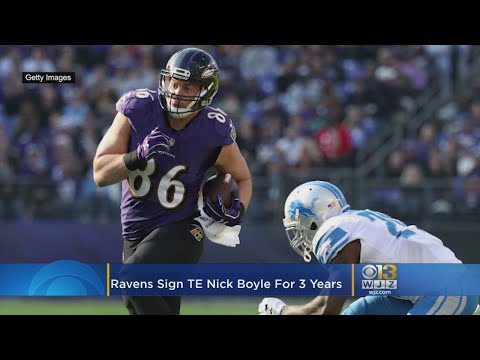 Ravens Get Jump On Free Agency, Sign TE Nick Boyle For 3 Years – Local News Alerts