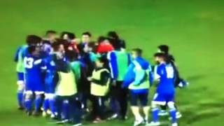 San Marino ceremony after got draw with Estonia - new record from San Marino