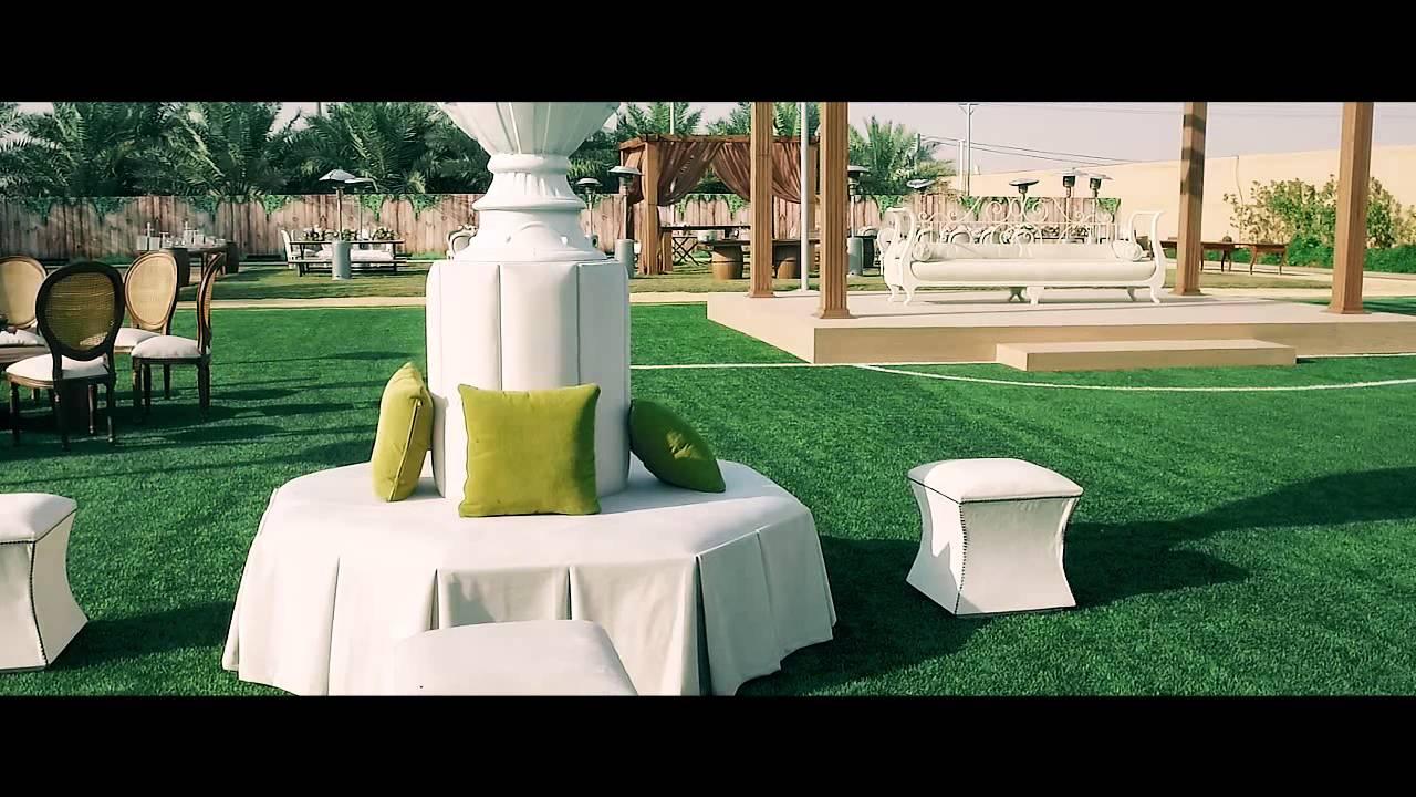 Outdoor Wedding Details Video In Riyadh