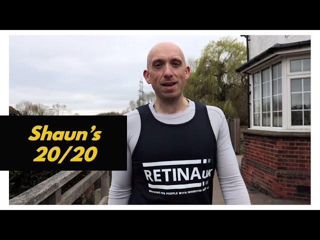 Shaun's 20/20 Challenge - Training Day