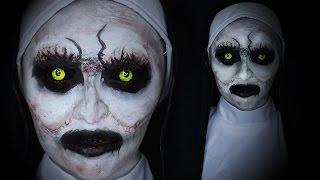 Conjuring 2: Valak Makeup (The Nun) ✝️