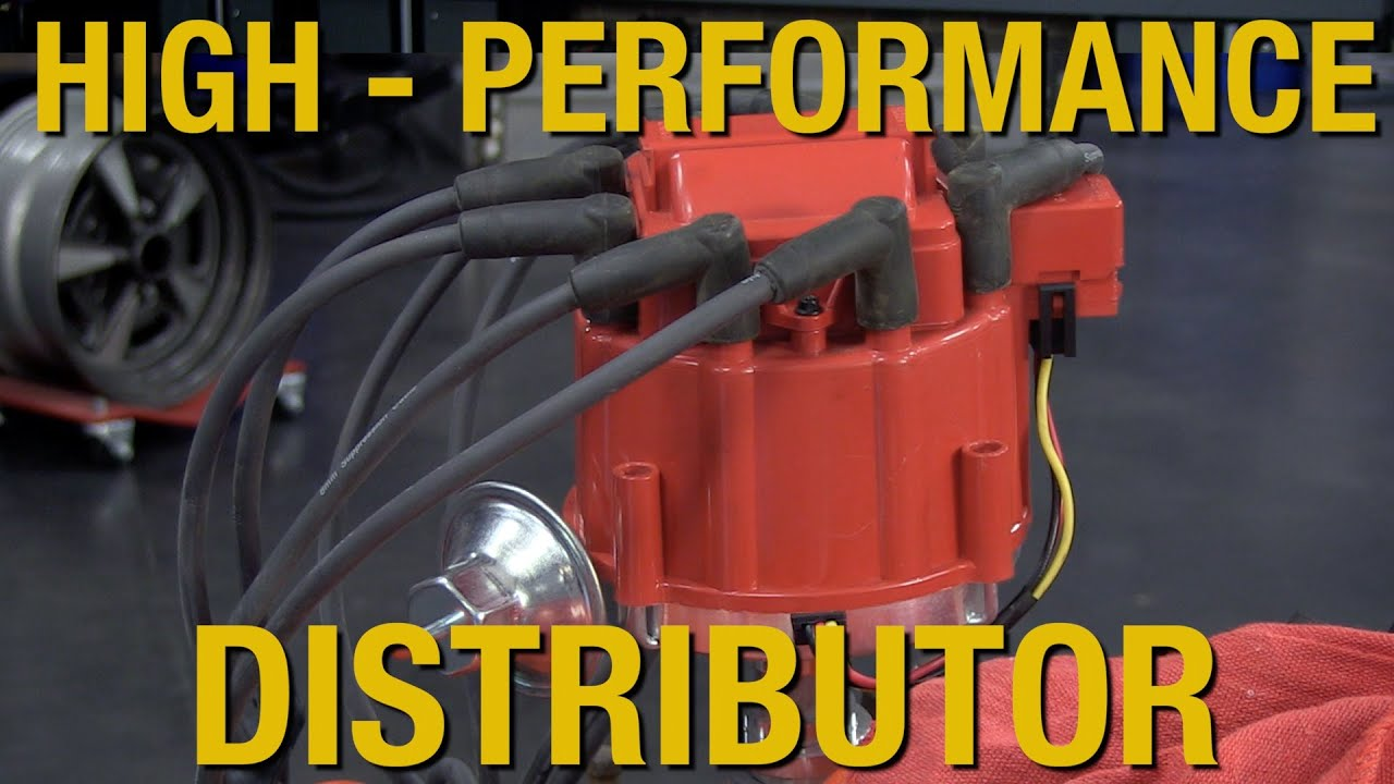 HEI Distributor - Small & Big Block Chevy Engines - High Voltage 50,000  Volt Output - Eastwood