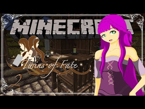 The Village of Tolliac⎥Minecraft Twins of Fate [Ep.2] (A Minecraft Roleplay)