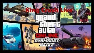 🔴GTA Online Doomsday DLC Akt.2 mit euch   LIVE   19.01.18   King Crush🔴