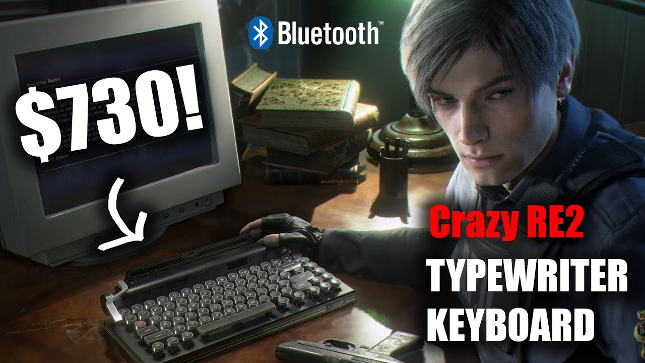 resident evil 2 remake collectors edition keyboard