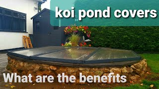 Covering Your Koi Pond In The Winter