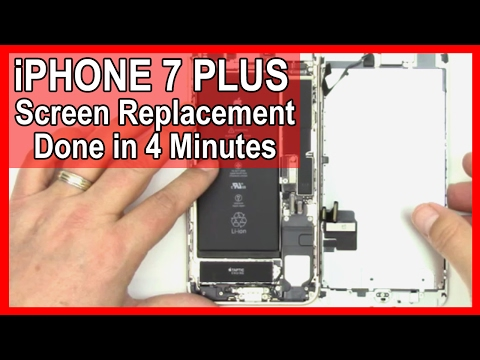 How To: IPhone 7 Plus Screen Replacement Done In 4 Minutes