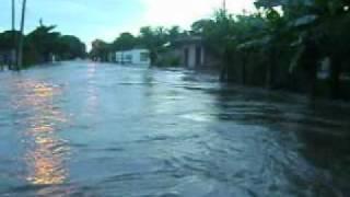 Inundacion del rio jamapa,Septiembre 2010