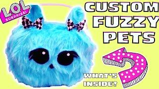 LOL Big Surprise Custom Fuzzy Pets | DIY Custom LOL Big Surprise