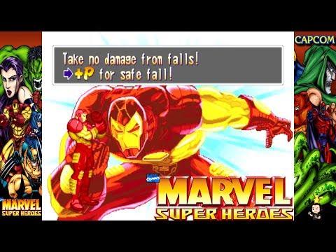 Game Over/Retry - Marvel Super Heroes - Arcade version |