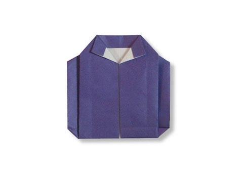 Cách Gấp, Xếp Bằng áo Khoác Jacket Bằng Giấy Origami - Video Hướng Dẫn
