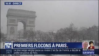 Ça y est, la neige est arrivée à Paris 🌨
