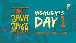 Java Jazz Festival 2020 - Highlights Day 1