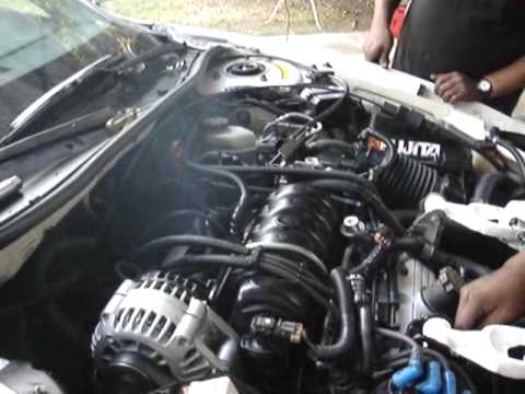 1998 Pontiac Grand Prix GT   Engine Start Burn
