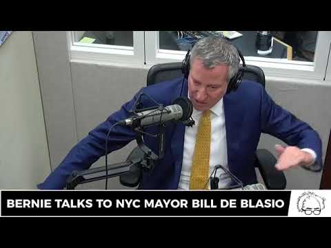 Bernie Sanders Show: Bill de Blasio Interview