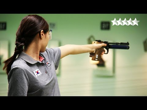 Air Pistol Team Women Final - 2018 FISU WUC Shooting Sport