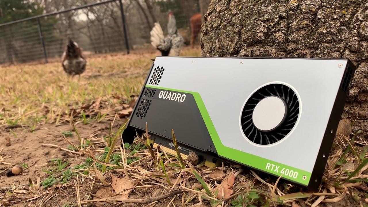 NEW Quadro RTX 4000: Seen in the Wild