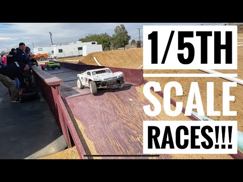 1/5th SCALE WORLDS RACES - BARTOLONE RACING - Losi 5ive-T - Losi 5ive-B - Smith RC Studios