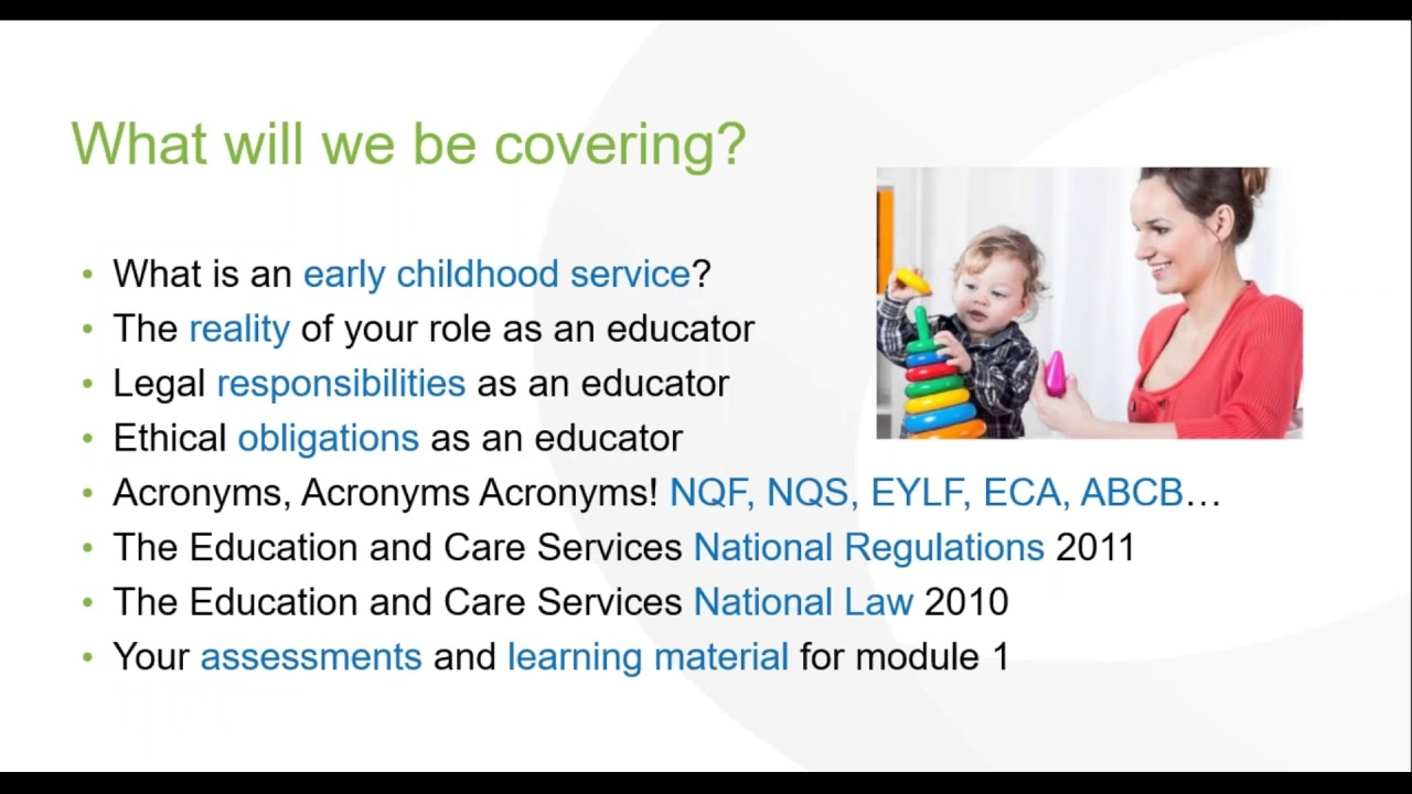 australias national early years learning framework and the importance of play for early childhood ed With the advent of the national early years learning framework  of the early years the early years of schooling from role to play in leading early childhood.