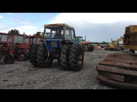Landini 5830 4WD Tractor, 3,830 Hours {F1209} - For Auction 30th of July 2016