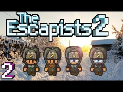 The Escapists 2: 4-Player - Tundra - #2 - The One With Lots of Punches