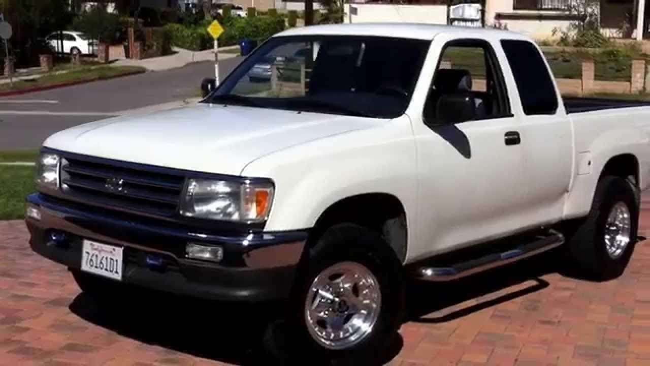 1995 toyota t100 slightly lifted youtube. Black Bedroom Furniture Sets. Home Design Ideas